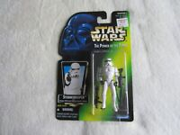 1997 Kenner Star Wars POTF:  Stormtrooper NIP (Top of Card Curled)