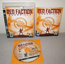 RED FACTION GUERRILLA PlayStation 3 w/Manual Volition Destructible Environment