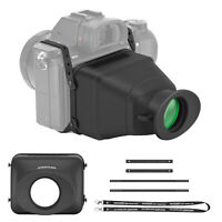 Neewer Universal LCD Optical Camera Viewfinder 3X Magnification for DSLRs
