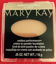 Mary Kay Endless Performance Ivory 5 (formerly Beige 2) Creme to Powder New!