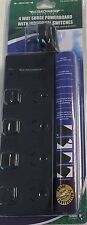 NEW 4 WAY SURGE PROTECTOR POWER BOARD WITH INDIVIDUAL SWITCHES - 4 OUTLET