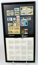 Special Stamp Collection of the USA 1971 (Mini Album), Framed