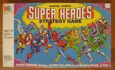 Marvel Comics Super Heroes Strategy Board Game Milton Bradley 1980 Nice!
