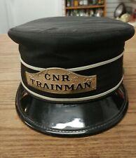 ANTIQUE CANADIAN NATIONAL RAILWAY TRAINMAN CAP