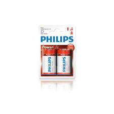 Pila Philips D alcalina Lr20 mono 1 5V