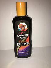Australian Gold Bronze Accelerator Natural Dark Bronzer Tanning Bed Lotion 8.5oz
