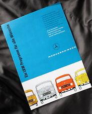 MBIG-Mercedes Benz Prospekt LKW Programm IAA 1958 319 311 312 321 333 338 334
