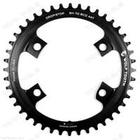 Wolf Tooth Narrow-Wide 44T x 110 for Shimano Asymmetric CX/Road Bike Chainring
