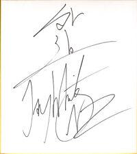 Jay White Gedo Signed Shikishi Bas Beckett Coa New Japan Pro Wrestling Autograph