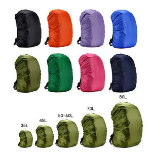 Hot Waterproof Dust Rain Cover Travel Hiking Backpack Camping Rucksack Bag Co_TC