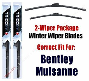 WINTER Wipers 2-pack fits 2013+ Bentley Mulsanne 35240/210