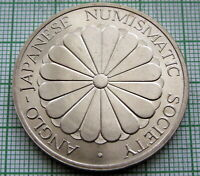 ANGLO - JAPANESE NUMISMATIC SOCIETY - IN MEMORIAM EMPEROR HIROHITO MEDALLION