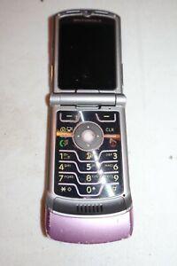 Antique Flip Motorola V3m RaZR Blade Verizon Camera 3G V3 PINK *AS-IS*