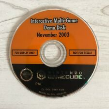 Nintendo Gamecube Interactive Multi Game Demo Disc Only November 2003 PAL Loose