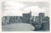 Manorbier castle  real photo