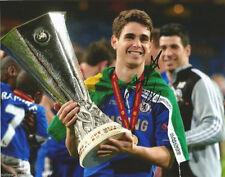 Chelsea FC Oscar Autographed Signed 8x10 Photo COA F