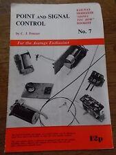 Point & Signal Control CJ Freezer Railway Modeller Shows you how Booklet Leaflet