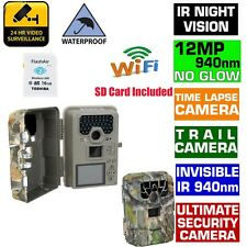 Trail Camera Hunting Guard Scout Farm Cam Time Lapse Outdoor+16GB Wifi SD Card