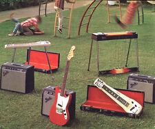 "Fender Pedal Steel Guitars 8x10"" Photo Print"