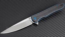 "Artisan Cutlery Shark Folding Knife 4"" S35Vn Stainless Blade Carbon Fiber Handle"