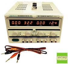 Alimentatore Stabilizzato da banco Duale Trasformatore lineare 30V-60V o 5A-10A