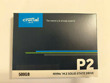 Crucial P2 500GB M.2 2280 NVMe SSD PCIe 3D NAND Internal Solid State Drive-NEW
