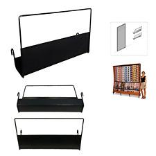 mensola espositore porta riviste Expotutto L38 cm, ferro nero, edicola libreria