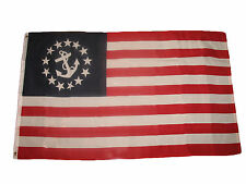 3x5 Nautical Ensign Yacht Boating Premium Polyester Flag 3'x5' Banner Grommets