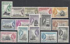 Falkland Islands Dependencies 1954 SG G26-G40  MLH  VF