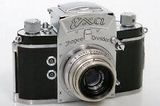 Ihagee (Exakta) Exa 434497 35mm Camera With Zeiss Tessar 5cm f3.5