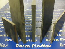 "(070) Phenolic Sheeting - Black Paper Xx 2 pcs at one time-1/2"" x 4"" x 13"""