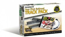 Bachmann #44596 HO Scale - Your First Railroad EZ Track Set - Gray Roadbed