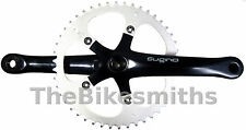 SUGINO XD 165MM BLACK SINGLESPEED TRACK FIXED GEAR BIKE CRANKSET MADE IN JAPAN