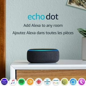 Amazon Echo Dot 3rd Generation Smart Speaker (C78MP8) - Charcoal