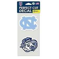 North Carolina Tar HEELS Set of 2 Die Cut Decals by WinCraft Inc.