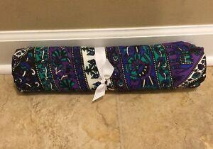 """NEW Pottery Barn Teen Boho Mandala 80"""" x 90"""" Wall Tapestry NAVY PURPLE **Issue**"""
