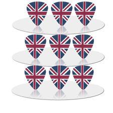 Union Jack British Flag Britain Guitar Picks Lot of 10 .46 mm Free Tracking New