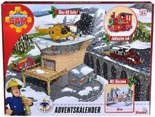Feuerwehrmann Sam Adventskalender Spielfiguren Weihnachtsgeschichte Spielszeneri