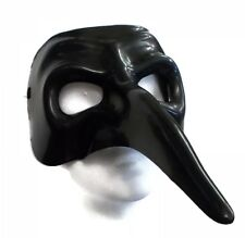 Venetian Raven Mask - Victorian Halloween Masquerade Cosplay Accessory fnt