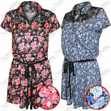 Cap Sleeve Regular Floral Jumpsuits & Playsuits for Women