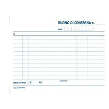 BLOCCO BUONI CONSEGNA CM.12X17 50 FG.CARTA CHIMICA 3 COPIE