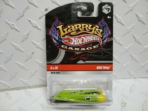 Hot Wheels Larry's Garage #5 Green Wild Thing  CHASE w/Real Riders