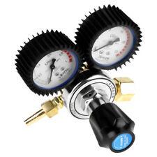 Co2 Gas Bottle Regulator Carbon Dioxide Welding Pressure Reducer Dual Gauge