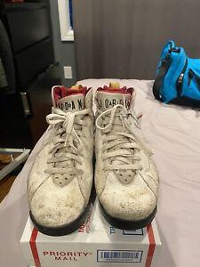 Mens Air Jordan Cardinal 7s Size 8.5 Beaters