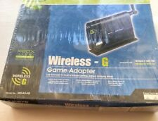 LINKSYS by Cisco WGA54G WIFI WIRELESS G Ethernet Game / Computer Adapter Network