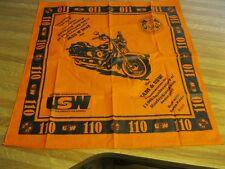 2013 Harley-Davidson 110th Anniversary Union Workers  Bandana !!! NEW!!!