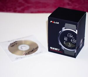 Very Nice Green and Stainless Polar Grit X GPS Sports Watch With Extras