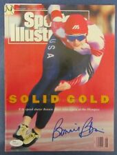 Bonnie Blair Team USA Oympics Speed Skating Signed Sports Illustrated JSA N31882