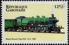 Royal Bavarian State Railway (Germany) Class S3/6 4-6-2 Steam Train Stamp #2