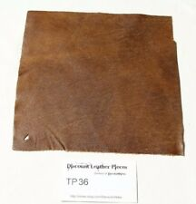 """""""Rhozak Forest"""" Brown Craft Leather Piece Approx. 8'' by 8'' TP36"""